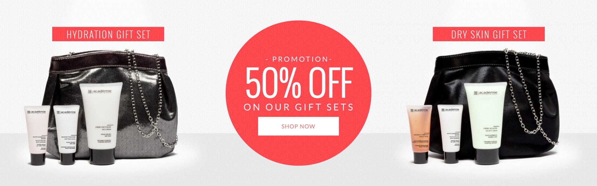 Promotion 50%OFF on Selected Gift Sets